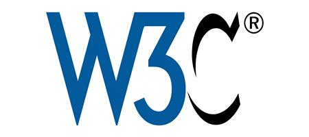 W3C 英文官網連結圖檔