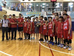 109 教育盃籃球賽代表照片